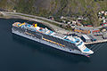 Cruise ship at Honningsvåg, near North Cape.jpg