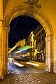Cuenca. Mayor square. Bus. Castilla - La Mancha. Spain (4184472715).jpg