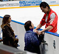 Cup of Russia 2010 - Alexander Smirnov with coaches.jpg