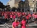 Cursa de les dones a la Gran Via - Barcelona 2014.JPG