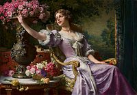 Czachórski Lady in a lilac dress.jpg