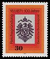DBP 1971 658 100 Jahre Reichsgründung.jpg