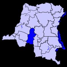 Касаи на карте