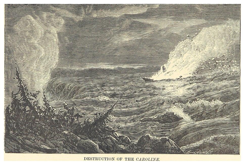 DENT(1881) 1.213 DESTRUCTION OF THE CAROLINE