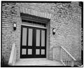 DETAIL OF DOORWAY, NORTH ELEVATION - Carrington-Covert House, 1511 Colorado Street, Austin, Travis County, TX HABS TEX,227-AUST,18-10.tif