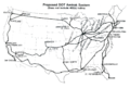 DOT proposed Amtrak system map, May 1978.png