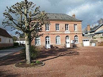 Drucat - The town hall in Drucat