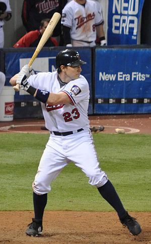 Brendan Harris - Harris with the Minnesota Twins