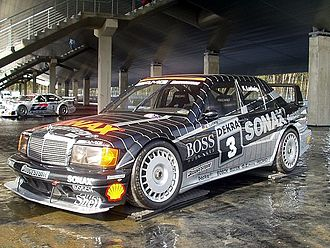 Deutsche Tourenwagen Meisterschaft - Klaus Ludwig won the 1992 drivers' title with a Mercedes-Benz 190E