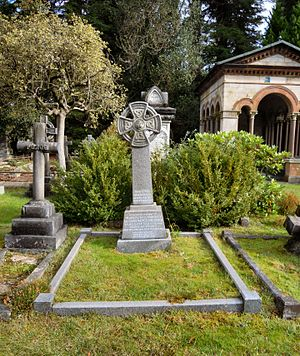 Claude Maxwell MacDonald - MacDonald's grave in Brookwood Cemetery