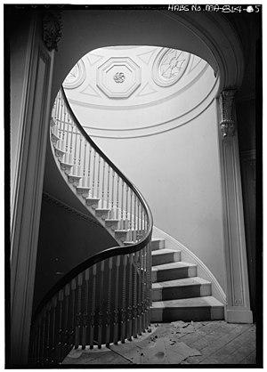 Nathan Appleton Residence - Interior, Parker House