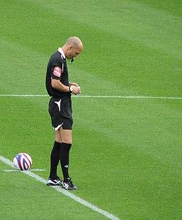 Darren Drysdale Football referee