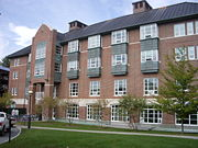 Whittemore Hall, completed in 2000, is a living complex housing 60 first-year students.