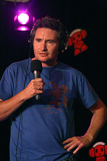 Dave Hughes Australian stand-up comedian and a radio and television presenter