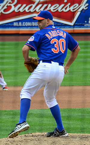 David Aardsma - Aardsma pitching for the New York Mets in 2013
