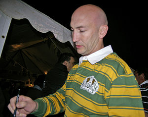 David Barnhill - Barnhill at rugby league centenary celebrations in 2008
