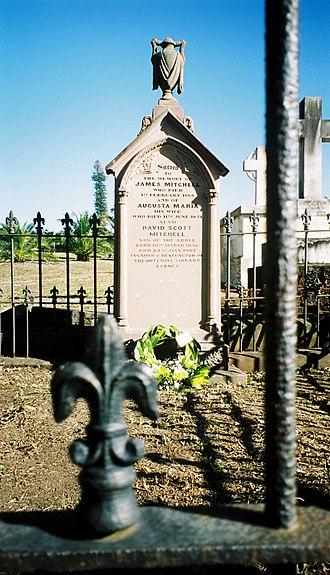 David Scott Mitchell - Mitchell's grave at Rookwood Cemetery