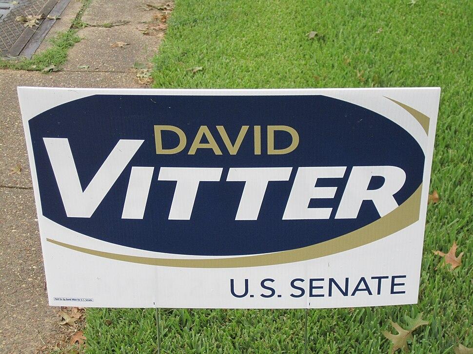 David Vitter yard sign IMG 0018