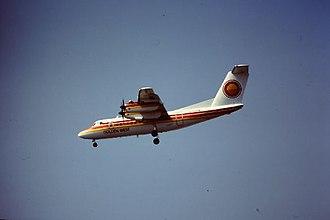Golden West Airlines - Golden West Airlines de Havilland Canada DHC-7 Dash 7, 1981