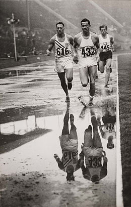 Decathlon reflections, Olympic Games, London, 1948. (7649948104).jpg