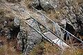 Defekte Brücke über einen Bach bei Amberd, Armenien.jpg