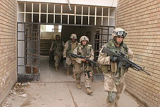 Battle of Huế - 3rd Battalion 5th Marines seize apartments at the edge of Fallujah in November 2004