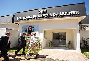 Domestic violence in Brazil - Delegacia de Defesa a Mulher