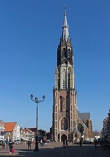 church in Delft