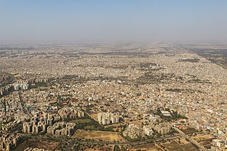 Dwarka, Delhi - Aerial View of Dwarka Residential Area.