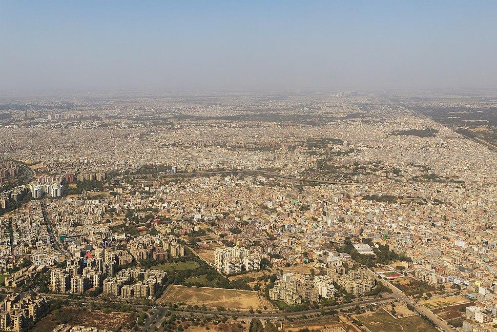 Delhi aerial photo 03-2016 img1