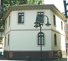 Guhr's residence in Bockenheim (Source: Wikimedia)