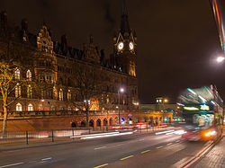 Denis Bourez - Saint-Pancras by night (8935391313).jpg