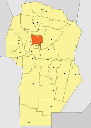 Ascochinga - Image: Departamento Colón (Córdoba Argentina)