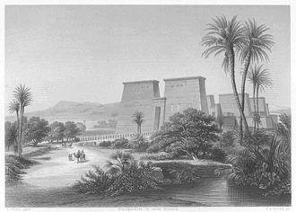 Pylon (architecture) - Temple of Karnak, western façade