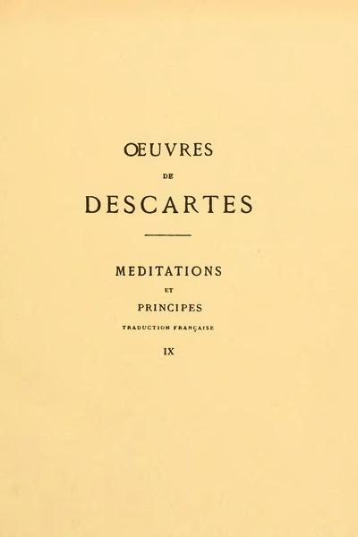 File:Descartes - Œuvres, éd. Adam et Tannery, IX.djvu
