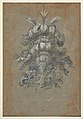Design for a Lavish Headdress with Feathers on a Helmet (frontal view) MET DP824421.jpg