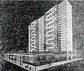 Design to replace Plaza del Vapor by Carlos Alfonso, architect. Havana Cuba, 1959.jpg
