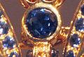 Detail - Conchita Sapphire Butterfly head with Yogo sapphire crop - 2011-01-07.jpg