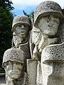 Detail of World War Two Memorial - Dunavska Gradina Park - Silistra - Bulgaria (43042426362).jpg
