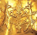 Detail of a rhyton from Marlik, Iran, 1000 BC.jpg