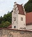 Detail van Wehrkirche in Kinding . Locatie Kinding Opper-Beieren Duitsland 01.jpg