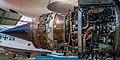 Detailaufnahme eines Einstufen Turbofan Triebwerkes von Rolls-Royce (14290610426).jpg