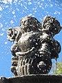 Detalles de la Fuente de San Miguel Arcángel, Zócalo de Puebla 09.jpg