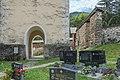 Deutsch-Griffen Pfarrkirche hl. Jakobus d. Ä. Turmvorhalle und Wehrmauer 24072015 6181.jpg
