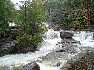 Bartlett, New Hampshire - Diana's Baths on Lucy Brook