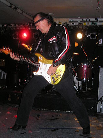 Surf music - Dick Dale performing in 2005