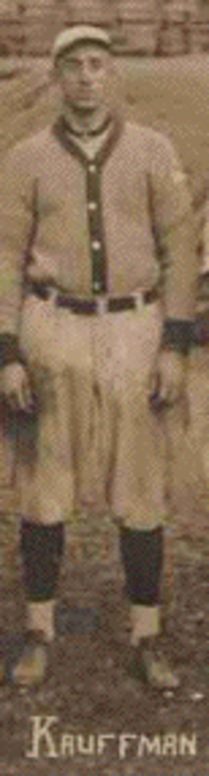 Dick Kauffman - Kauffman played with the St. Louis Browns for two seasons (1914–15).