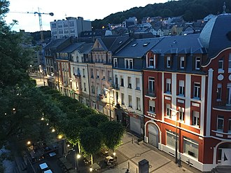 Differdange - City center of Differdange