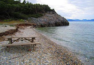 Dilek Peninsula-Büyük Menderes Delta National Park - A small cove along the northern shore of the peninsula