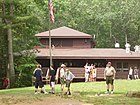 Dining hall at Camp Medicine Bow, Yawgoog Scout Reservation.jpg